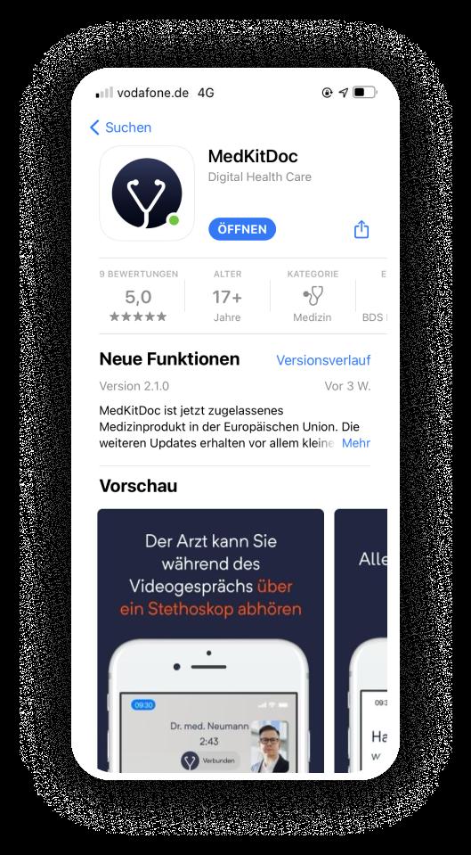 app-store-medkitdoc-app-herunterladen